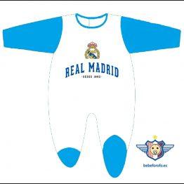 Pelele Terciopelo Real Madrid Beb/é HALA Madrid Azul